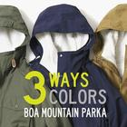 3WAY 3COLORS BOA MOUNTAIN PARKA